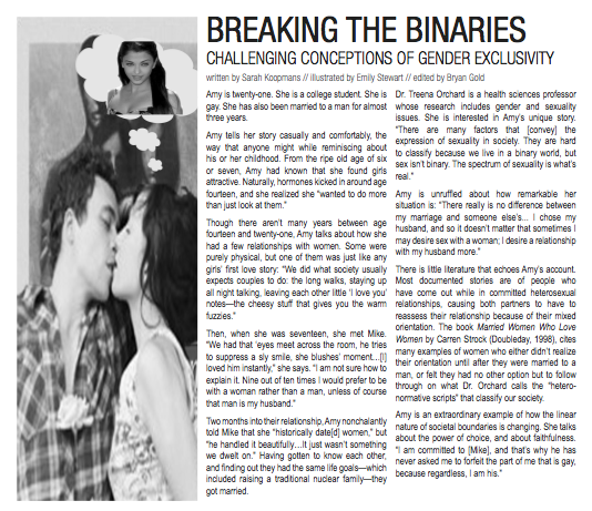 """Breaking the Binaries"""