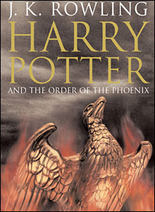"J.K. Rowling, ""Harry Potter and the Order of the Phoenix"" (Book 5)"