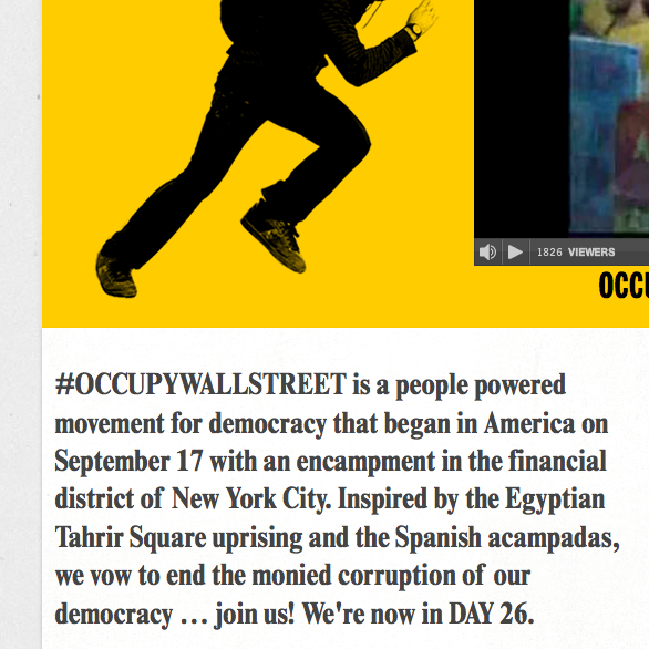 Adbusters: Occupy Wall Street