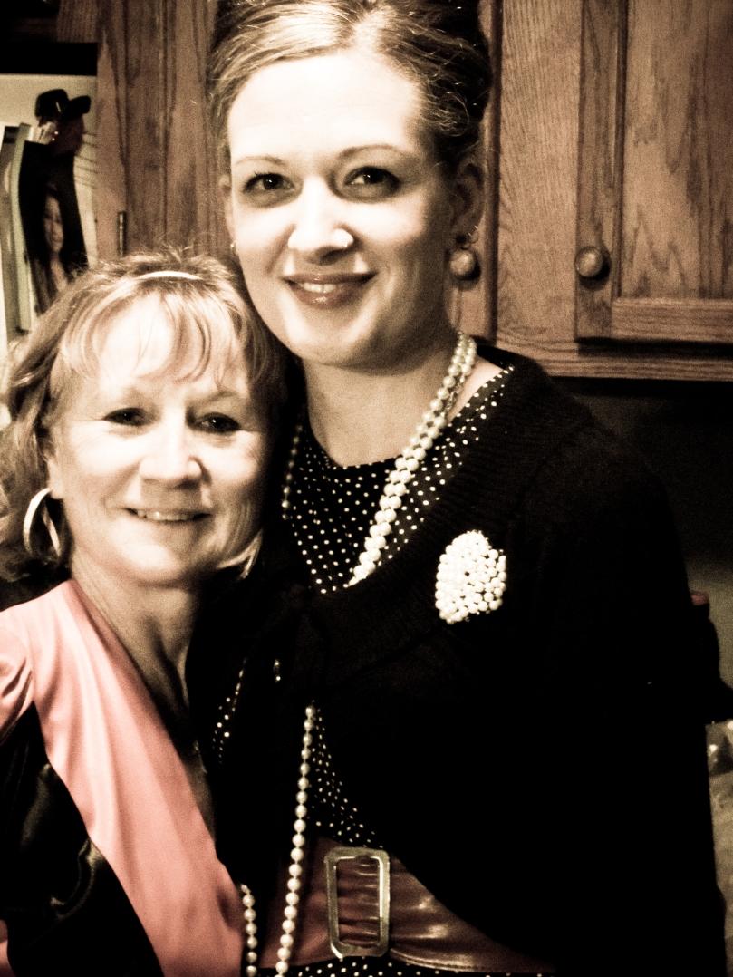 Deb & I