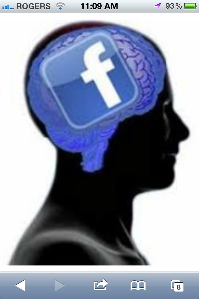 Facebook on the brain