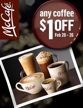 McCafe $1 off