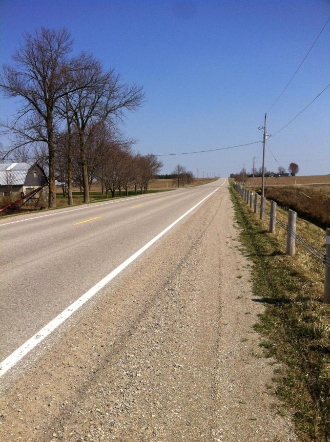 My running trail