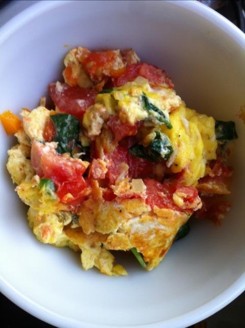 Egg & Veggie Scramble