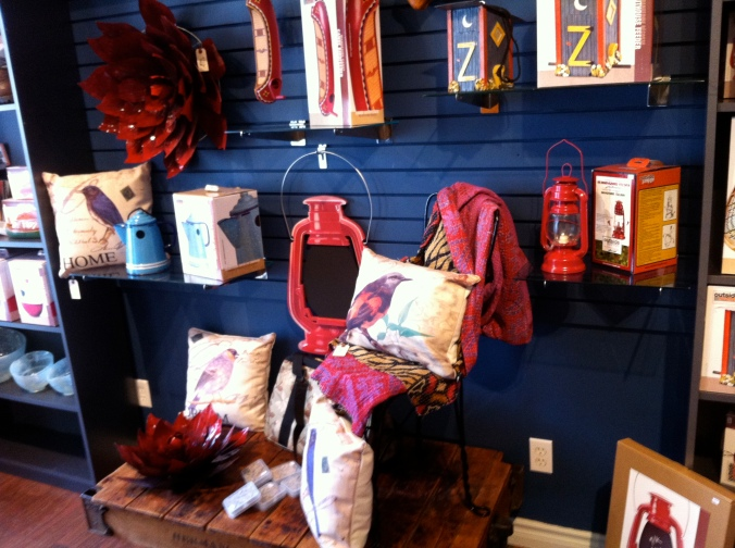 Pillows and bowls and blankets and lanterns, oh my!