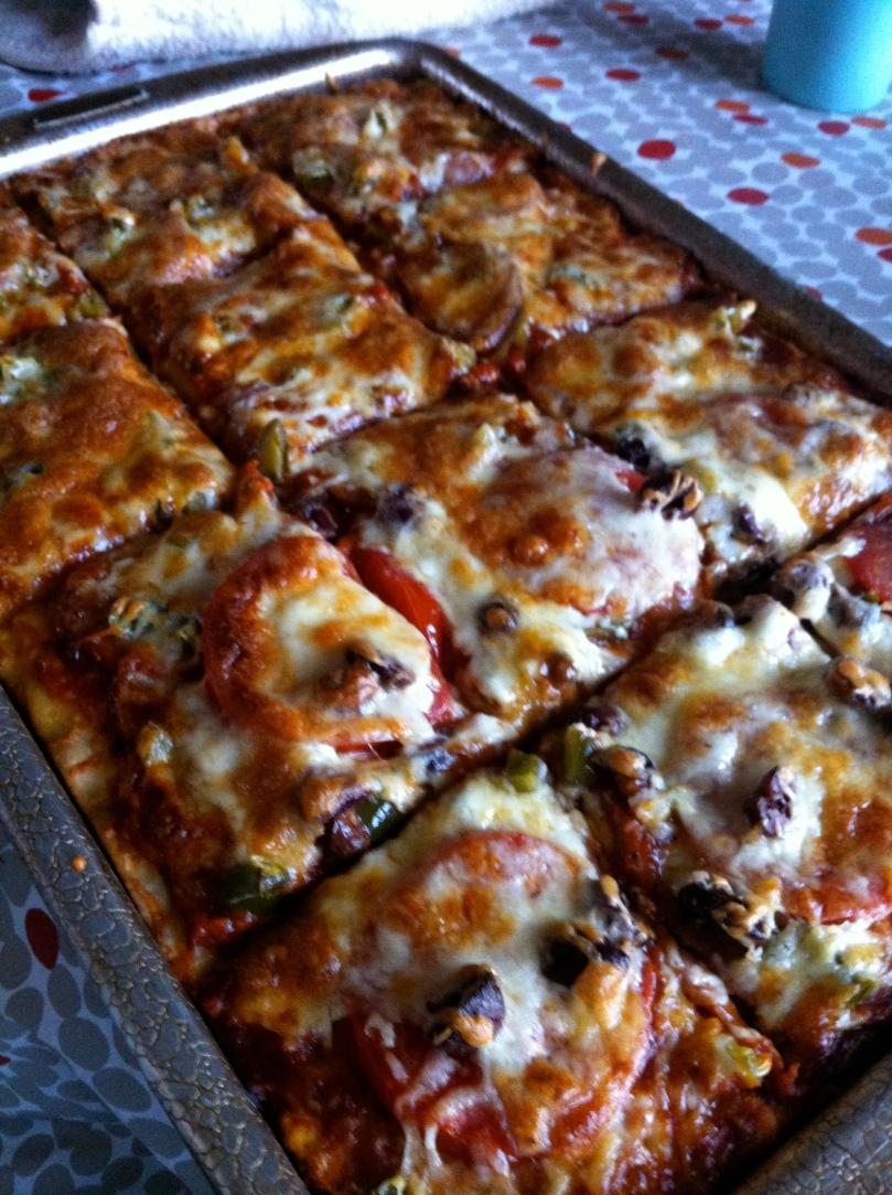 Crack, aka pizza