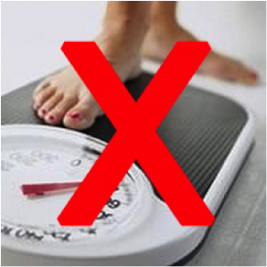 Scale no weighing