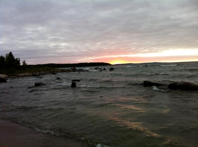shores of an Ontario lake