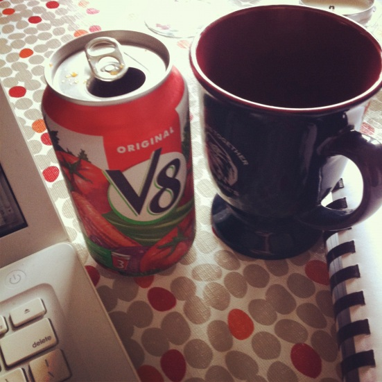 V8 and Coffee: Breakfast of procrastinators