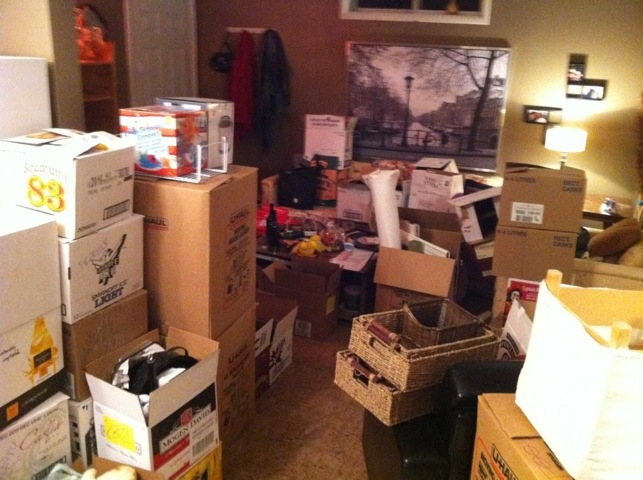 The night before move-out