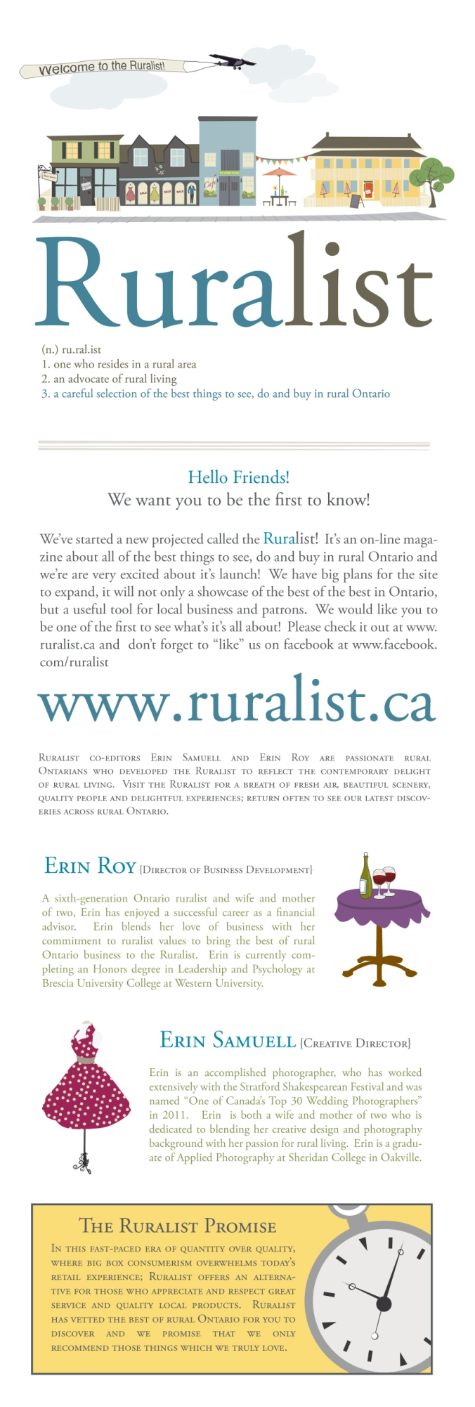 Welcome to the Ruralist